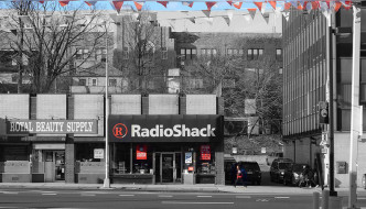 A RadioShack in New York. photo/ps